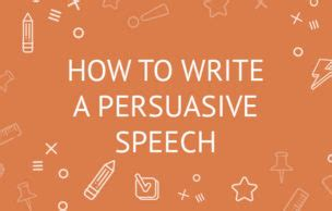 How to write a good persuasive letter